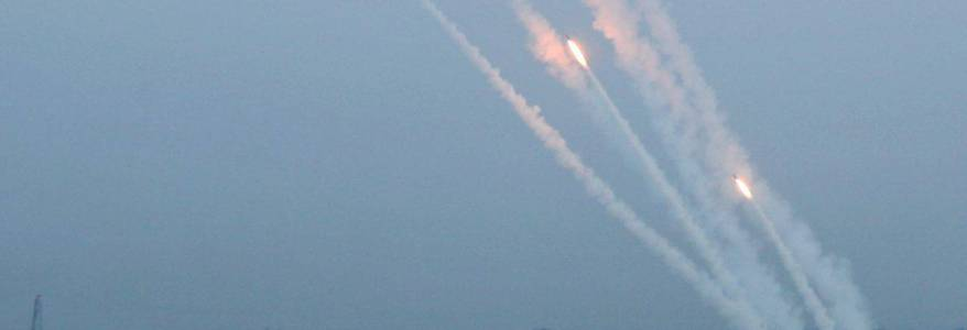 Hamas terrorists launched experimental rockets from Gaza to Israel