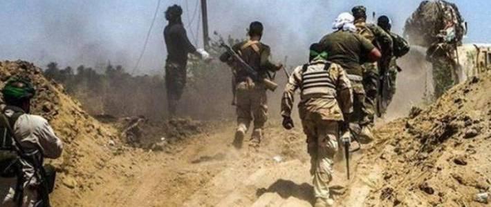 Roadside bomb killed and injured two Iraqi militiamen near Khanaqin