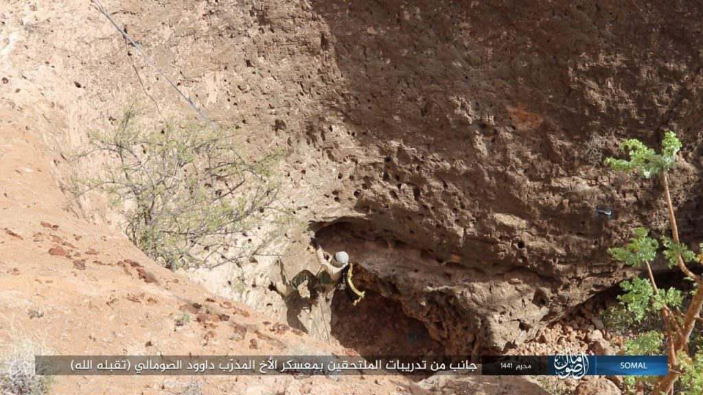 GFATF - Islamic State trains in Somalia Puntland1