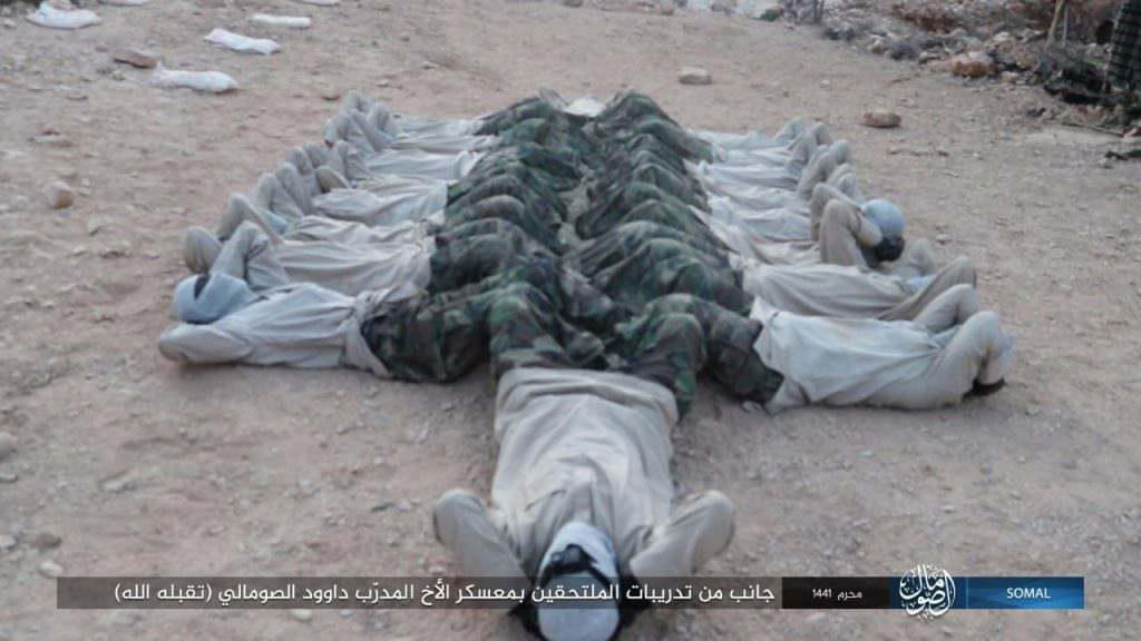 GFATF - Islamic State trains in Somalia Puntland4