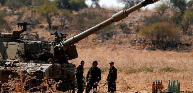 Israel army forces and Hezbollah exchange fire along the Lebanon border
