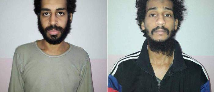 British Islamic State terrorists called 'The Beatles' captured in Syria and being extradited to the US