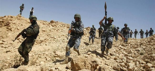 Two soldiers killed and three are wounded in Islamic State attack in Iraq
