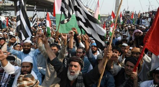 Pakistani authorities steps up security ahead of rally in Islamabad