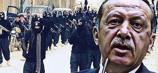 Turkish President Erdogan insisted Islamic State attack Kurdish territory in 2014