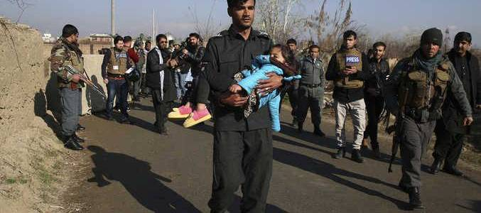 At least ten people are killed and eighteen others are injured in two separate blasts in Afghanistan