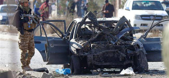 Car bomb explosion kills six soldiers in Afghanistan