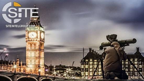 Islamic State issued chilling threat with image depicting rocket launcher firing at Big Ben