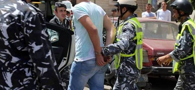 Lebanese authorities arrested two Palestinians for allegedly joining terrorist group