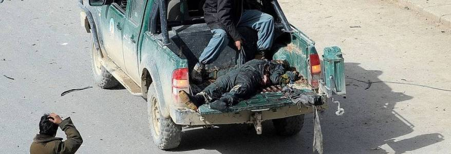 One officer killed after terrorists attack police car in Afghanistan