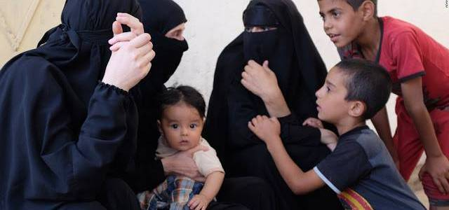 Ex-Islamic State women and children transferred across the durand line