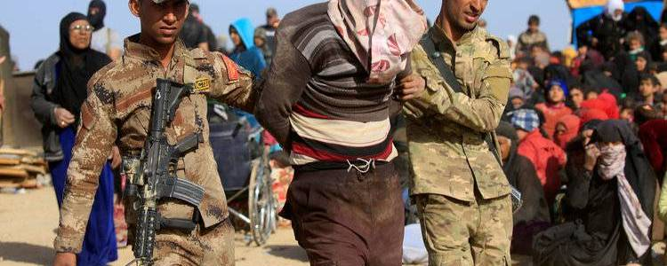 Iraqi Army forces arrested dangerous Islamic State insurgent in Kirkuk