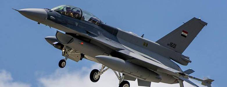 Iraqi air raids kill six Islamic State terrorists in the Salahuddin desert
