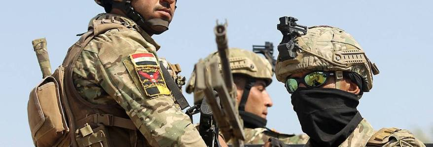 Iraqi forces are trying to keep pressure on the Islamic State terrorists