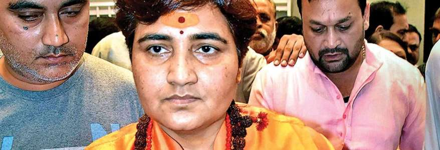 Pragya Thakur claims that the Islamic State is behind sending poisonous chemical threat letter to her