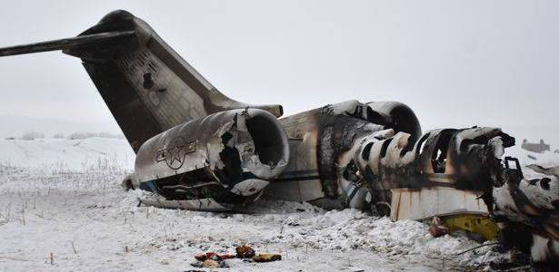Soldiers and Taliban terrorists clash near the site of downed US jet in Afghanistan
