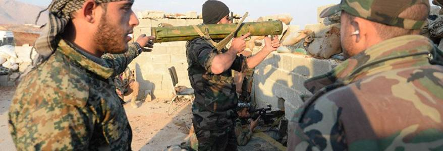 Syrian Army forces under terrorist attack in Idlib