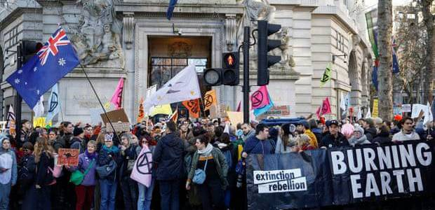 Terrorism police list Extinction Rebellion as extremist ideology