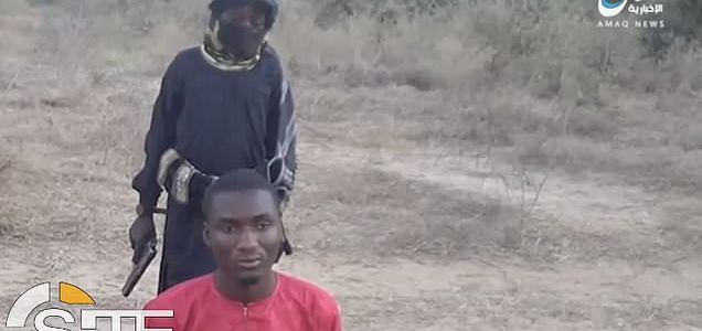 Young boy executes Nigerian Christian prisoner in horrifying Islamic State video