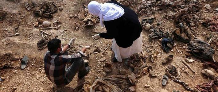 Another mass grave of Kurdish Yezidis discovered in northern Iraq