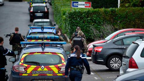 French police attacker inspired by the Islamic State made pre-attack call to pledge allegiance