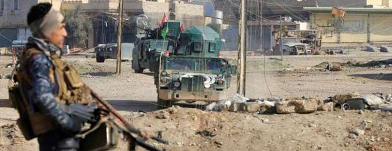 Iraqi military forces arrested three Islamic State terrorists in Mosul