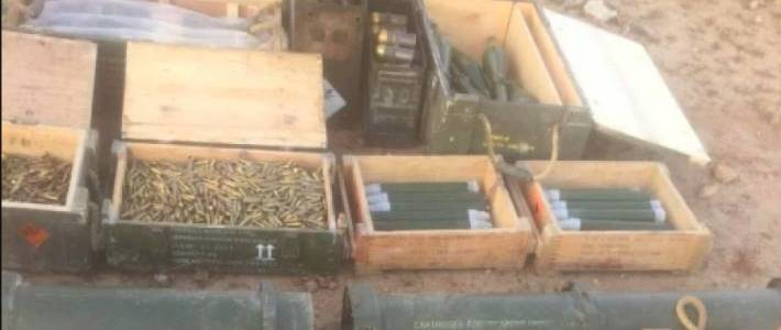 Islamic State weapons cache found in Mosul by the Iraqi Army