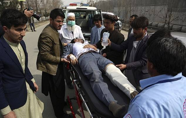 GFATF - LLL - At least 27 people are killed and dozens wounded as gunmen assault political rally in Afghanistan
