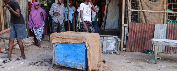 At least four people killed in Mogadishu suicide bombing