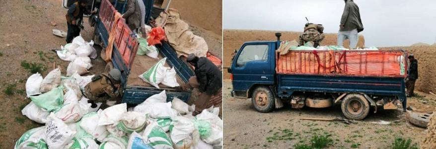 Truck with 4,000 kgs of explosives seized in the western Herat province in Afghanistan