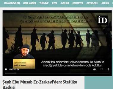 Turkish website posts Islamic State videos, articles and editorials