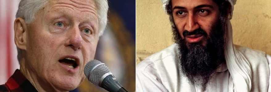 Former U.S. President Bill Clinton prevented the killing of Osama bin Laden in Afghanistan