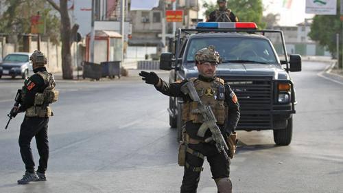 Iraqi security forces arrest an Islamic State terrorist involved in Speicher massacre