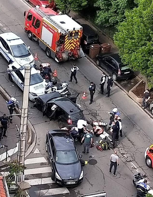 GFATF - LLL - Terror suspect who crushed two police motorcyclists with his BMW in Paris did that for the Islamic State 1