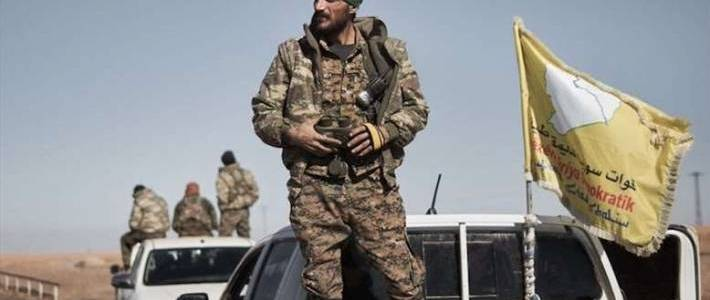The Syrian Democratic Forces captured senior Islamic State member