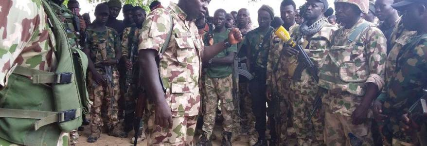 Troops of Operation Lafiya Dole destroy Boko Haram logistics base and neutralise fighters in Borno