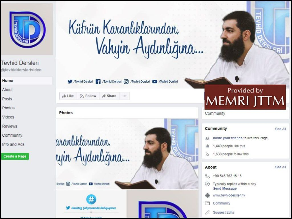 GFATF - LLL - Turkish Islamic State emir continues to operate through dozens of social media accounts 38