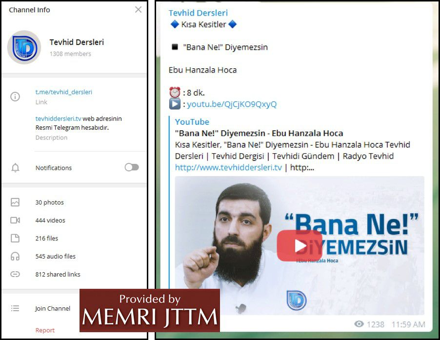 GFATF - LLL - Turkish Islamic State emir continues to operate through dozens of social media accounts 41