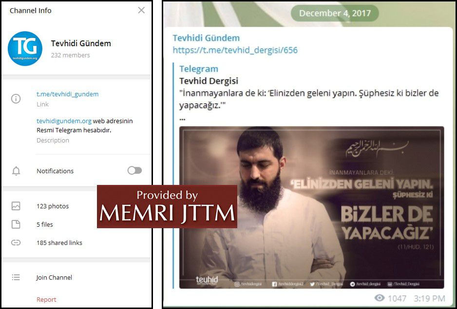 GFATF - LLL - Turkish Islamic State emir continues to operate through dozens of social media accounts 44
