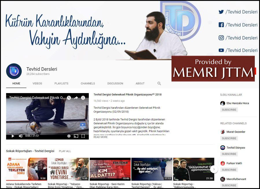 GFATF - LLL - Turkish Islamic State emir continues to operate through dozens of social media accounts 46