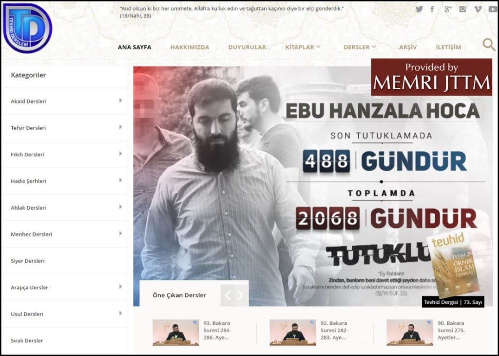 GFATF - LLL - Turkish Islamic State emir continues to operate through dozens of social media accounts 5