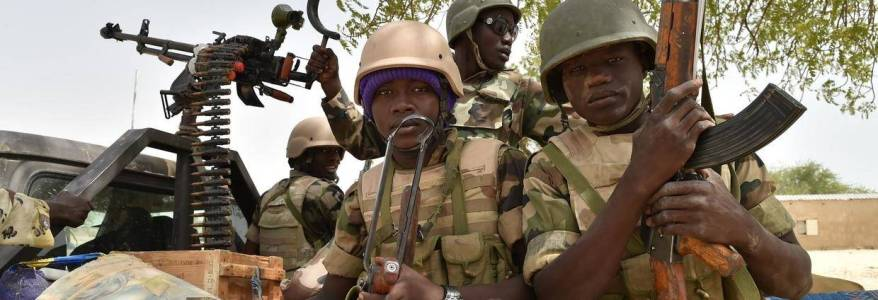 Boko Haram terrorists clash with army forces near key Niger city