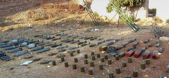 Grenades and bullets recovered from terrorist hideout in Jammu and Kashmir