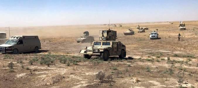 Iraq's Popular Mobilization Units captured fifteen Islamic State terrorists in Nineveh