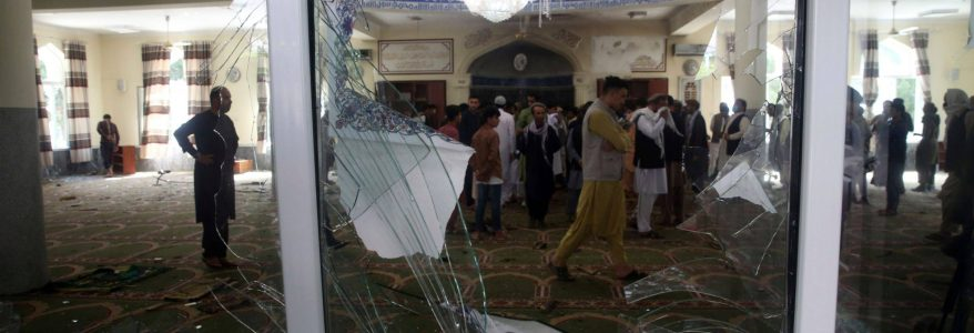At least four people are killed in the latest bomb explosion inside a mosque in Kabul