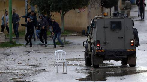 Palestinian forces thwarted attack against Israeli army troops in the West Bank