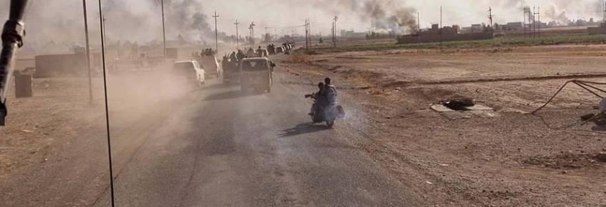 Three Islamic State terrorists killed in an air strike near Diyala