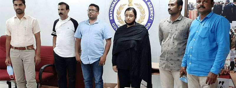 Accused in the Kerala gold smuggling case suspected of financing terrorism