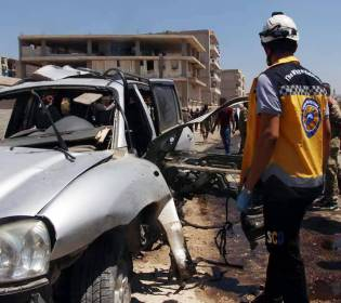 GFATF - LLL - Five dead and 85 wounded in car bomb attack in Syria Azaz