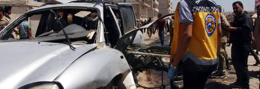 Five dead and 85 wounded in car bomb attack in Syria's Azaz
